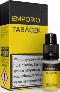Liquid EMPORIO Tobacco 10ml - 1,5mg