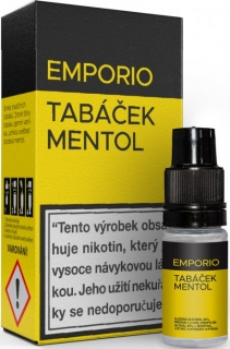 Liquid EMPORIO Tobacco - Menthol 10ml - 1,5mg
