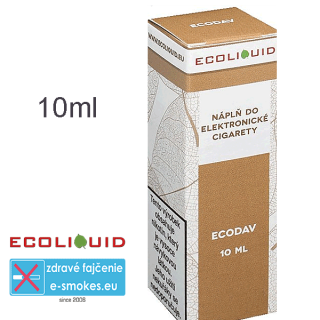 Ecoliquid e-liquid ECODAV 10ml 0mg