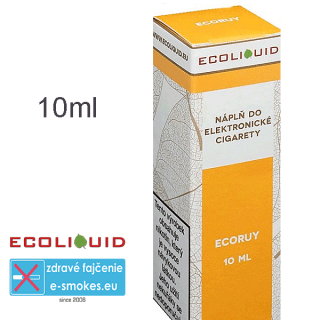 Ecoliquid e-liquid ECORUY 10ml 0mg