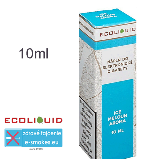 Ecoliquid e-liquid Ice meloun 10ml 0mg