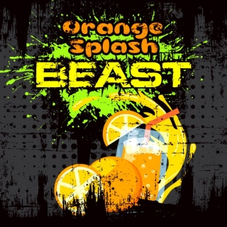 Big Mouth Shake&Vape Beast Orange Splast 50ml 0mg