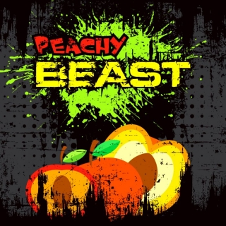Big Mouth Shake&Vape Peachy Beast 50ml 0mg