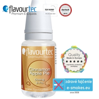 aróma pre e-liquid FlavourTec Cinnamon Apple Pie  10ml