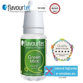 aróma pre e-liquid FlavourTec Green Mint  10ml