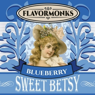 aróma pre e-liquid Flavormonks Sweet Betsy Blueberry 10ml