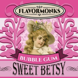 aróma pre e-liquid Flavormonks Sweet Betsy Bubble Gum 10ml