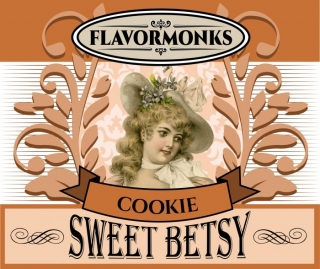 aróma pre e-liquid Flavormonks Sweet Betsy Cookie 10ml