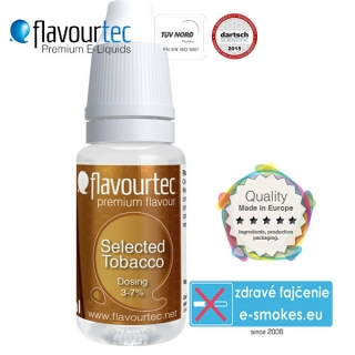 aróma pre e-liquid FlavourTec Selected Tobacco 10ml