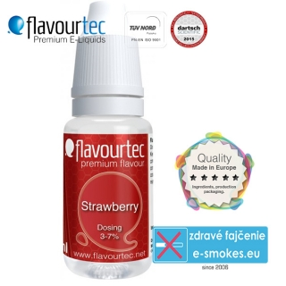 aróma pre e-liquid FlavourTec Strawberry 10ml