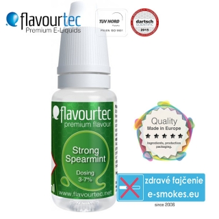 aróma pre e-liquid FlavourTec Strong Spearmint 10ml