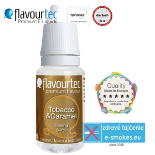 aróma pre e-liquid FlavourTec Tobacco and Caramel 10ml