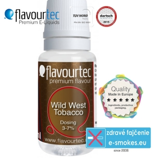 aróma pre e-liquid FlavourTec Wild West Tobacco10ml