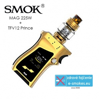 Smoktech full kit MAG TC225W s TFV12 Prince - zlatý