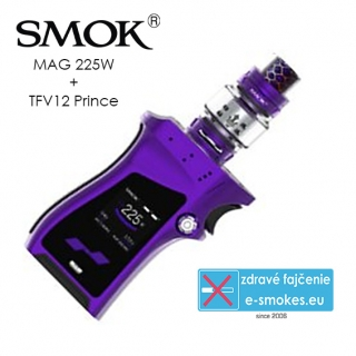 Smoktech full kit MAG TC225W s TFV12 Prince - fialový