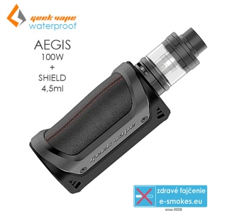 GeekVape full kit AEGIS s SHIELD 4,5ml - čierny