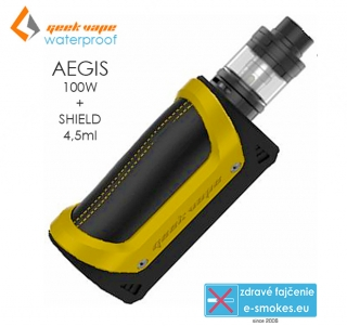 GeekVape full kit AEGIS s SHIELD 4,5ml - žltý