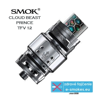 Smoktech TFV12 Prince clearomizér 8,0ml - gun metal