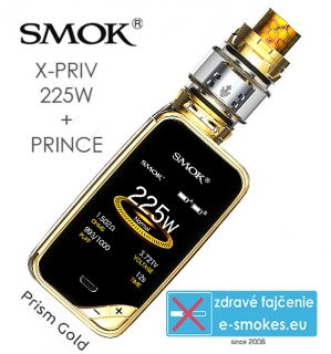 Smoktech full kit X-PRIV s TFV12 Prince - prism gold