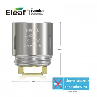 iSmoka - Eleaf  HW1-C Single-Cylinder- 0,25 ohm