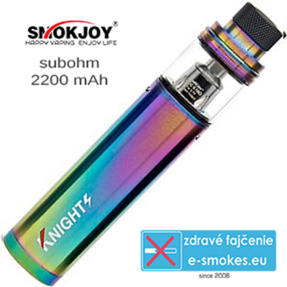 SmokJoy Knights 1 x 2200mAh - rainbow
