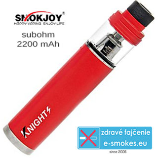 SmokJoy Knights 1 x 2200mAh - red