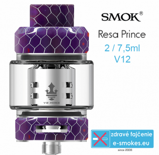 Smoktech RESA Prince clearomizér 7,5ml - purple
