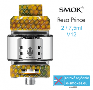 Smoktech RESA Prince clearomizér 7,5ml - Yellow