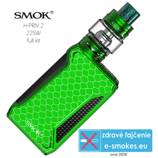 SmokTech H-Priv 2 Full Kit  - green
