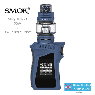 Smoktech full kit MAG BABY TC50W s TFV12 Baby Prince - navy blue