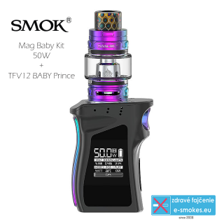 Smoktech full kit MAG BABY TC50W s TFV12 Baby Prince - black prism