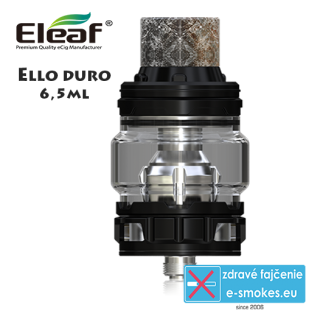 iSmoka - Eleaf clearomizer ELLO DURO 6,5ml - čierny