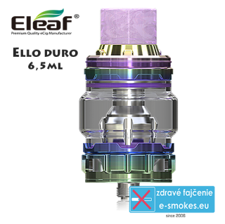 iSmoka - Eleaf clearomizer ELLO DURO 6,5ml - dazzing