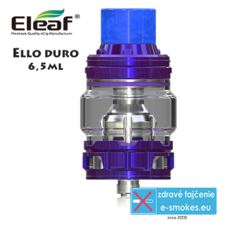 iSmoka - Eleaf clearomizer ELLO DURO 6,5ml - modrý