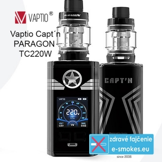 Vaptio kit Captn Paragon TC220W  - čierny