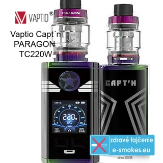 Vaptio kit Captn Paragon TC220W  - Rainbow