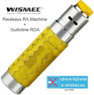Wismec Reuleaux RX Machina grip full kit - Honeycomb Resin