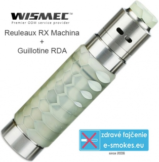 Wismec Reuleaux RX Machina grip full kit - White Honeycomb
