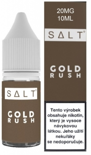 Juice Sauz e-liquid SALT, Gold Rush 10ml - 20mg