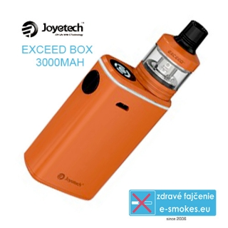 Joyetech Exceed Box 3000mAh + Exceed D22C -  dark orange