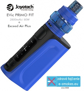 Joyetech full kit  eVic Primo FIT + exceed Air plus - blue