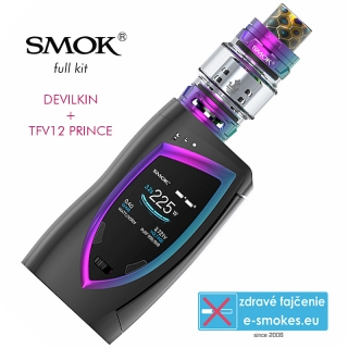 Smoktech full Kit Devilkin 225W - Black, Prism