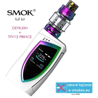 Smoktech full Kit Devilkin 225W - White, 7color