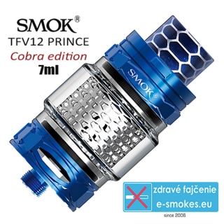 Smoktech TFV12 Prince Cobra Edition clearomizér 7,0ml - blue