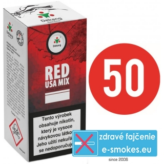e-liquid Dekang Fifty RED USA MIX 10ml - 0mg