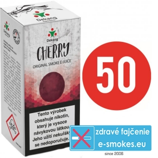 e-liquid Dekang Fifty Cherry 10ml - 6mg