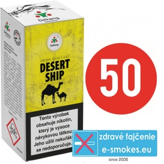 e-liquid Dekang fifty DESERT SHIP 10ml - 11mg