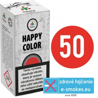 e-liquid Dekang Fifty HAPPY COLOR 10ml - 6mg