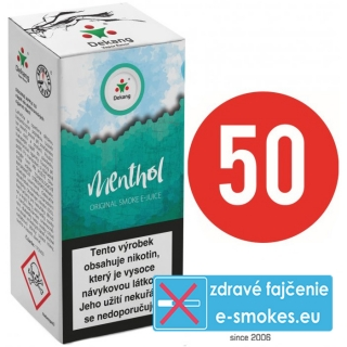 e-liquid Dekang Fifty MENTHOL 10ml - 6mg