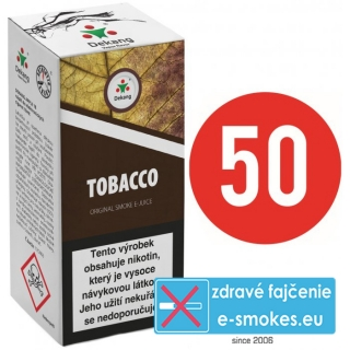 e-liquid Dekang Fifty TOBACCO 10ml - 3mg